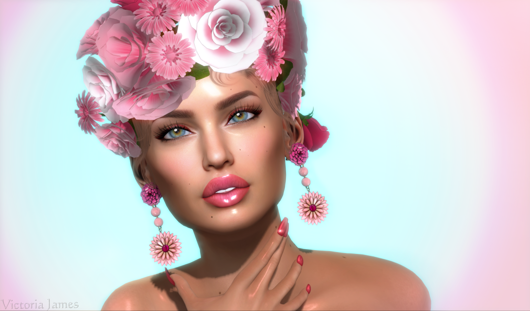 She Wore Flowers In Her Hair 4K